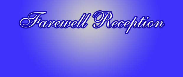 Invitation For A Farewell Reception For Pastor Party Invitations