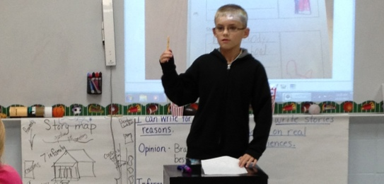 Writing projects for third graders