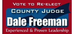 Re-Elect Dale Freeman